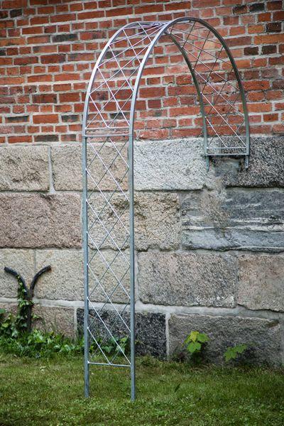 Wandrosenbogen Metall Zink, Höhe 230cm, Breite 150cm, Metall feuerverzinkt