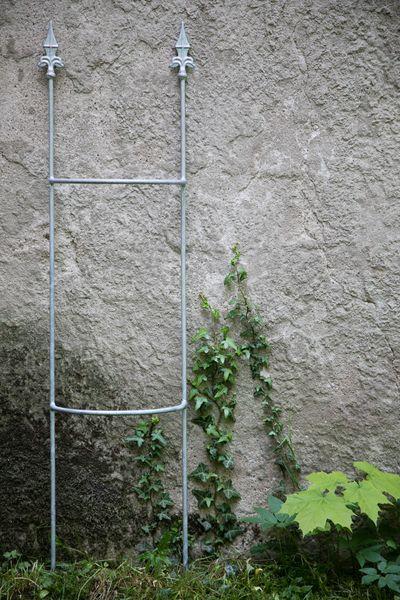 Rankgitter Metall, verzinkt, Höhe:120cm, Breite:35cm