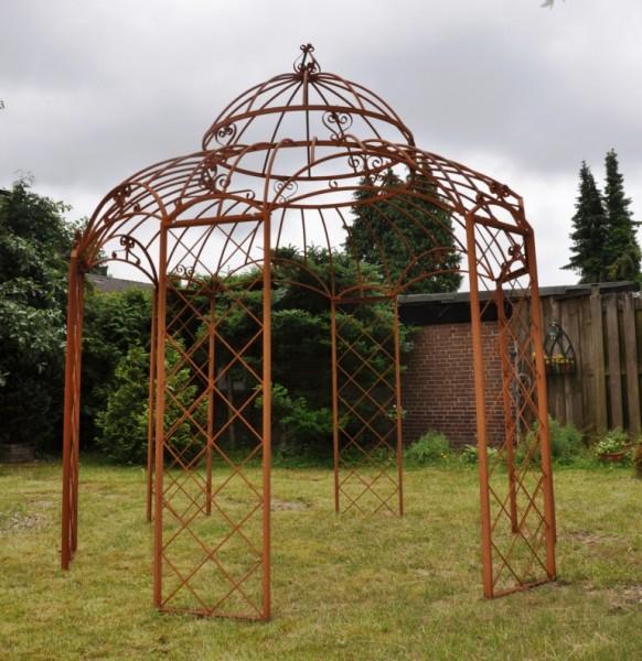 Pavillon Romantik Rost Ø340cm