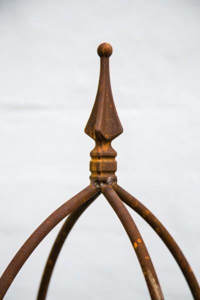 rankger st 10mm massiveisen obelisk blumenhilfe 120cm ebay. Black Bedroom Furniture Sets. Home Design Ideas