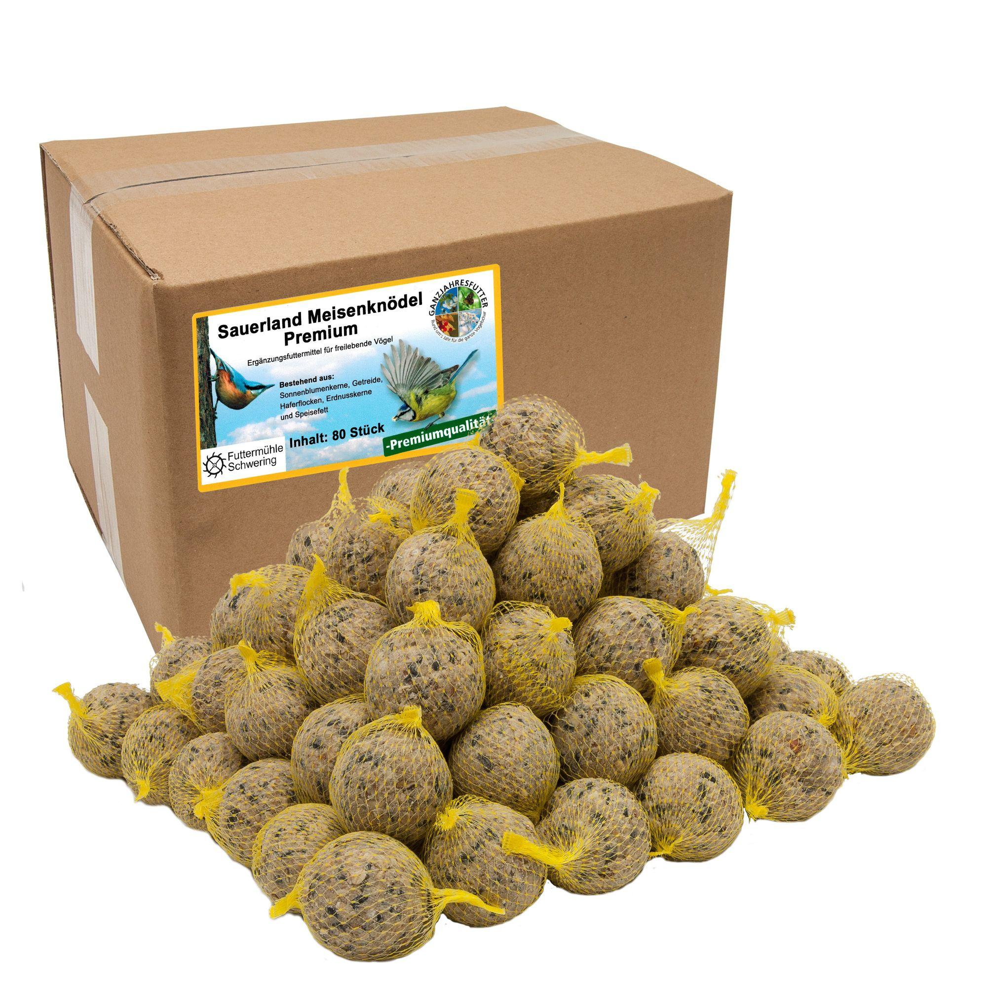 Sauerland-Premiumknödel 80 Stück im Karton