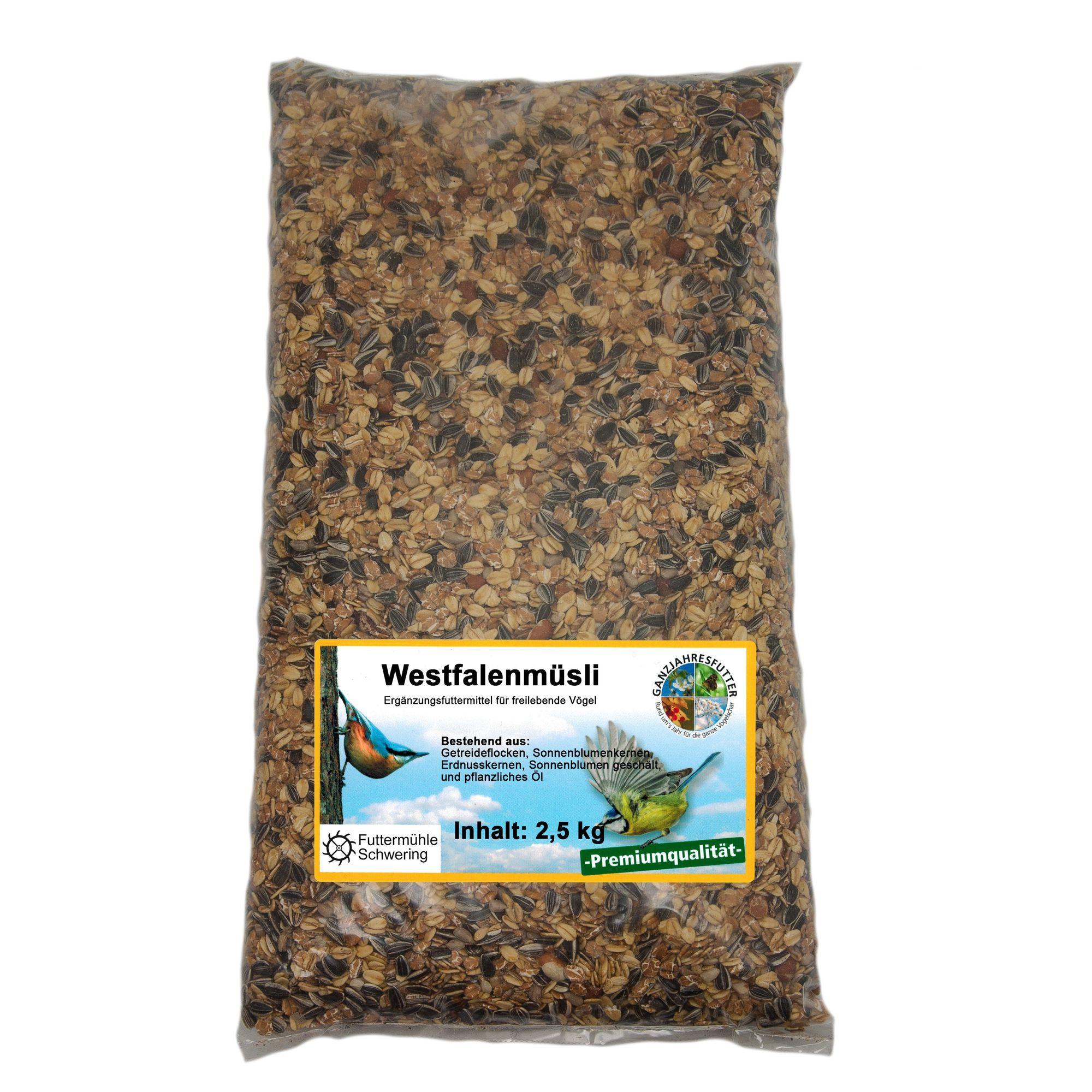 Westfalenmüsli, 2,5 kg Btl.