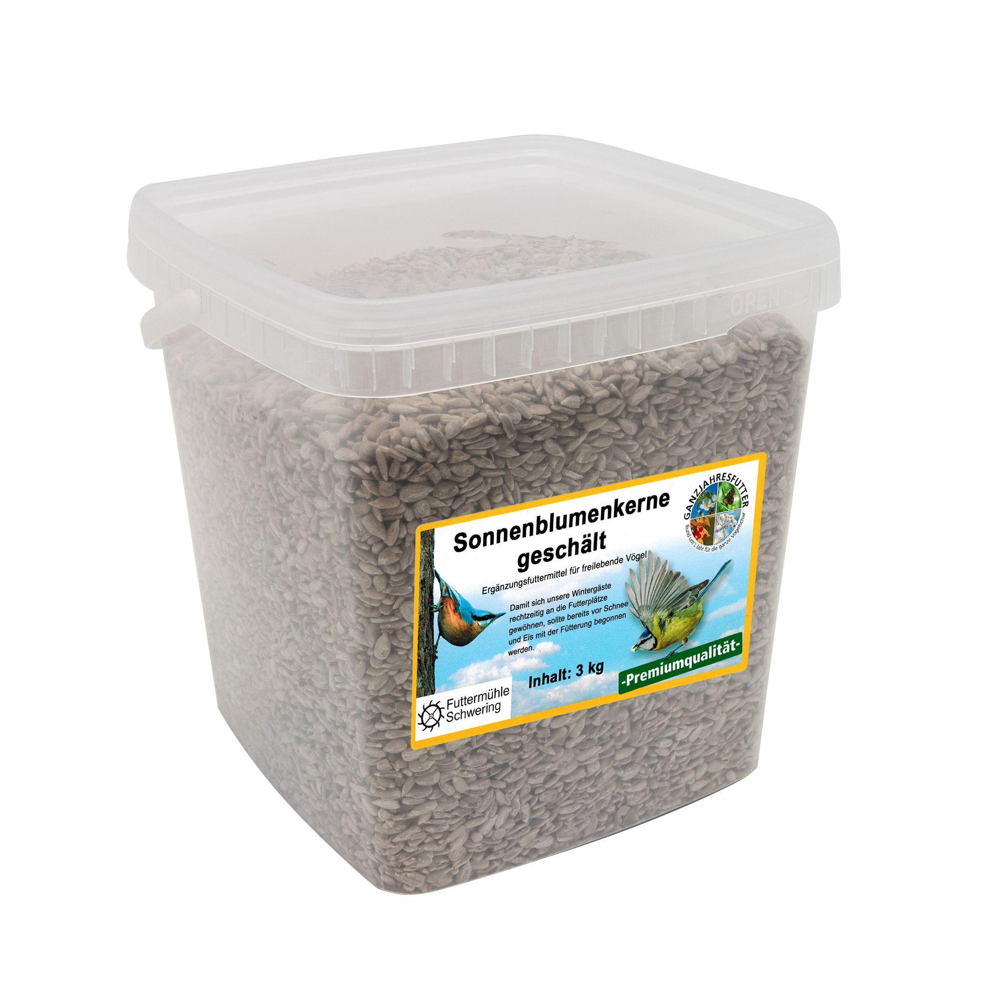 Sonnenblumenkerne, geschält, 3 kg Eimer