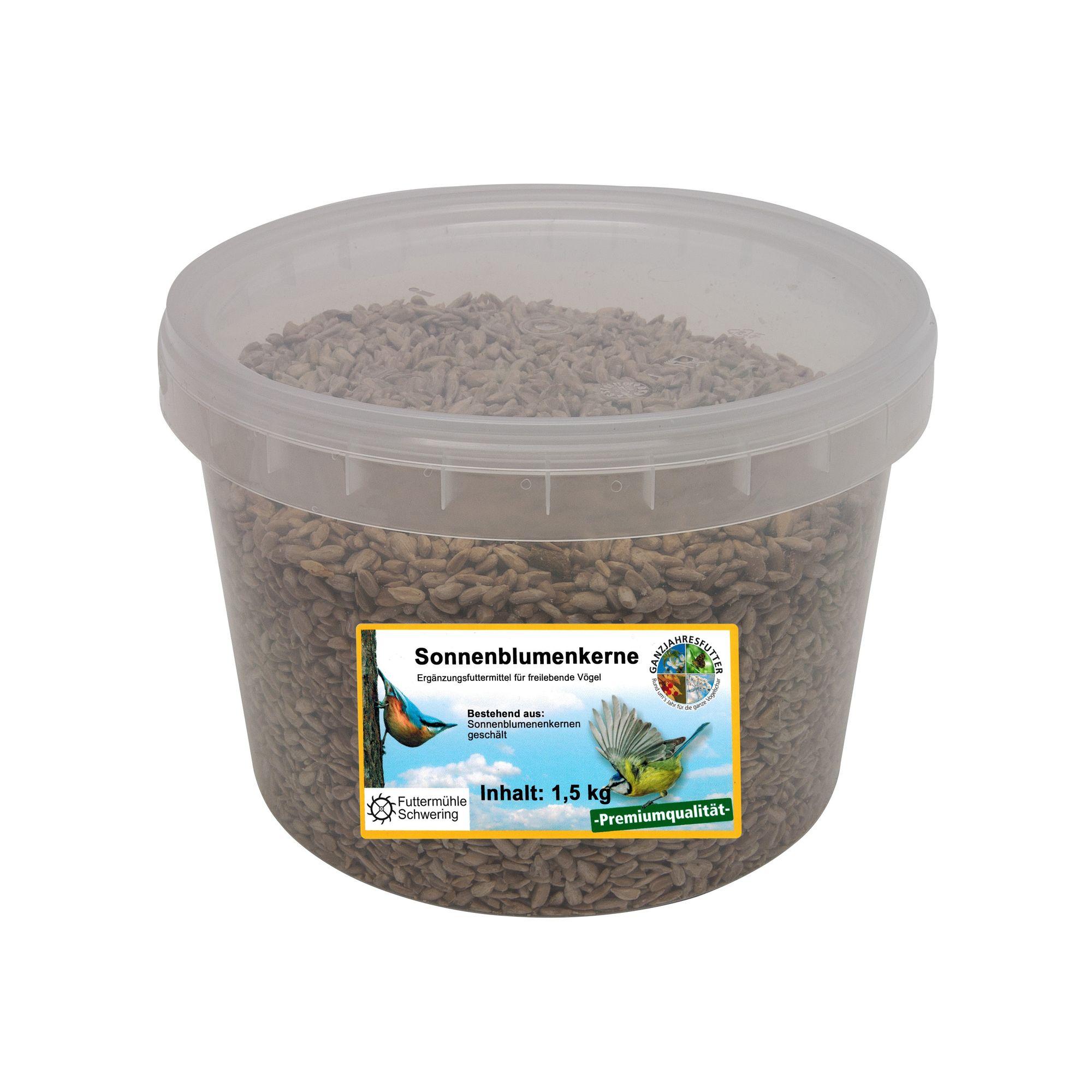 Sonnenblumenkerne, geschält, 1,5 kg Eimer