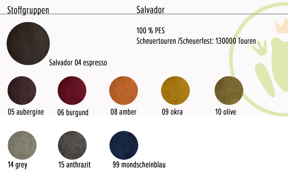 Boxspringbett Pembroke: Stoffe und Farben, Stoff, Material, Farbe