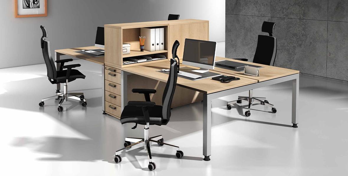 Büromöbelprogramm Jersey – Möbel von Hammerbacher
