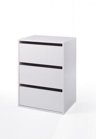 Verona Schubladenelement für Kleiderschränke Weiß