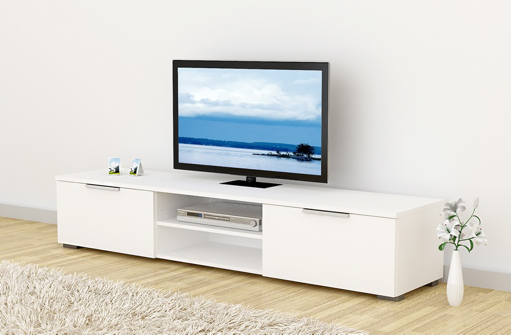 lowboard match tv m bel fernsehm bel wei hochglanz. Black Bedroom Furniture Sets. Home Design Ideas