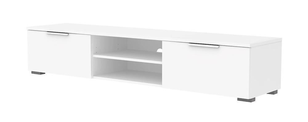lowboard match tv m bel fernsehm bel wei hochglanz sch ner wohnen tv m bel. Black Bedroom Furniture Sets. Home Design Ideas