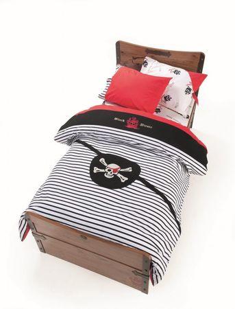 Cilek PIRATE - Bettwäsche Bettbezug 100% Baumwolle 160x200 cm – Bild 1