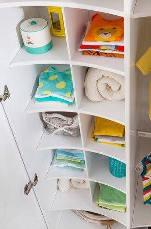 Cilek BABY COTTON Kleiderschrank Schrank Kinderzimmer Weiß – Bild 5