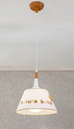 Cilek NATURA BABY Lampe Deckenlampe Wandlampe Weiß – Bild 2