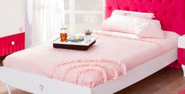 Cilek YAKUT Tagesdecke Bettbezug mit Kissen 135x230cm – Bild 1