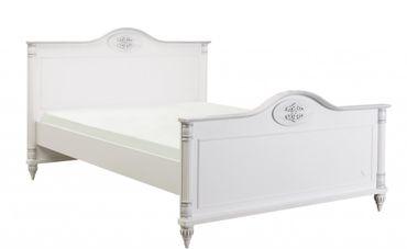 Cilek ROMANTIC Kinderbett Bett 100x200cm Kinderzimmer Weiß – Bild 1