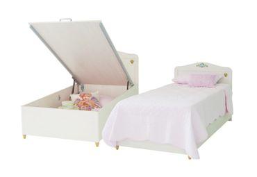 Cilek FLORA Kinderbett Bett 90x190cm Kinderzimmer Birke hell – Bild 1
