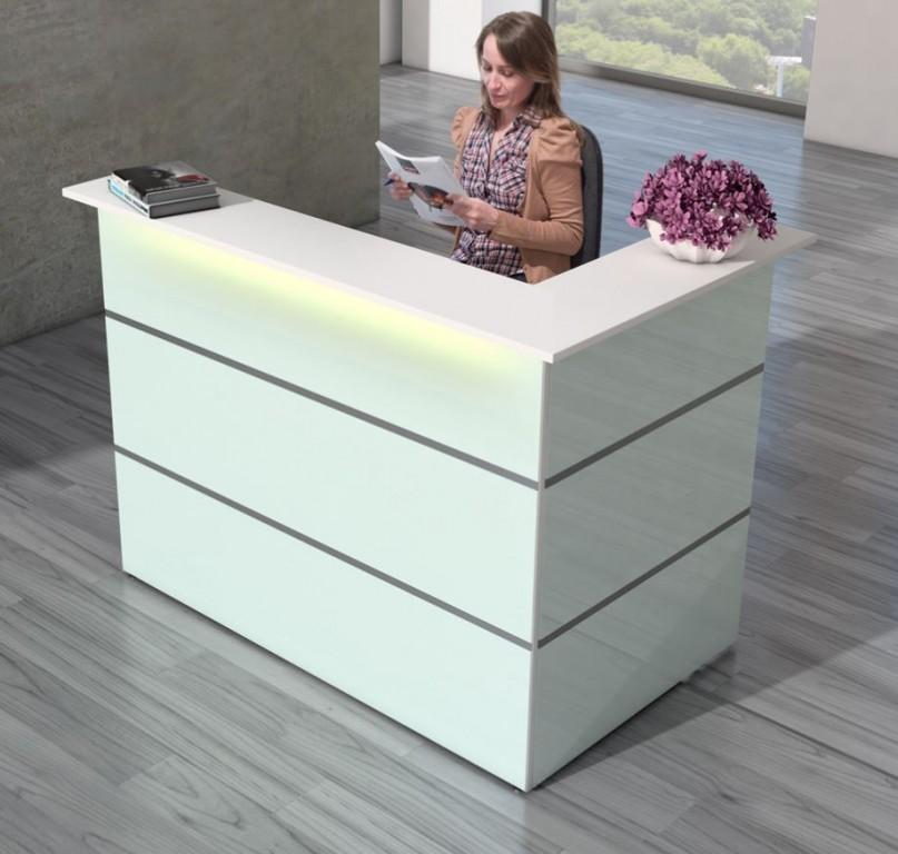 atlantis new typ1 empfangstheke theke empfang rezeption arzttheke lieferung glas ebay. Black Bedroom Furniture Sets. Home Design Ideas