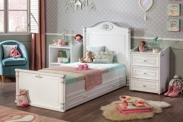 Cilek ROMANTIC BABY Babybett XL Bett Kinderbett Kinderzimmer Weiß – Bild 8