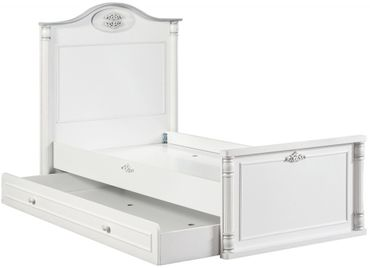 Cilek ROMANTIC BABY Babybett XL Bett Kinderbett Kinderzimmer Weiß – Bild 2