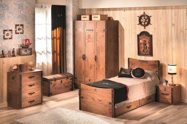 Cilek PIRATE 6 Kinderzimmer Set Komplettset Kinder Spielzimmer Piraten Braun – Bild 1