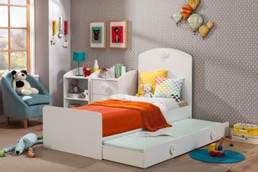 Cilek BABY COTTON Kinderbett Bett Kinderzimmer Weiß – Bild 1