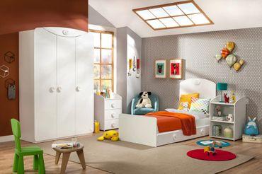 Cilek BABY COTTON 3 Kinderzimmer Set Komplettset Schlafzimmer Spielzimmer Weiß – Bild 1