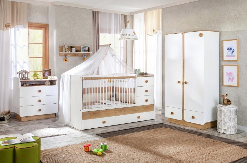 Cilek Natura Baby 4 Kinderzimmer Set Babyzimmer Kinder Komplettset
