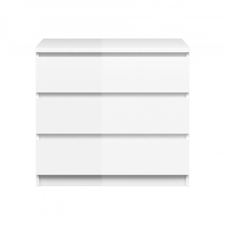 kommode naia anrichte sideboard schlafzimmer weiß hochglanz