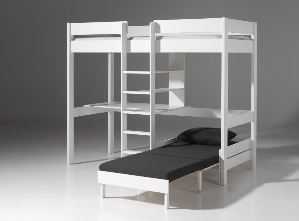 Etagenbett Pino : Vipack winkel etagenbett pino cm kiefer massiv weiß
