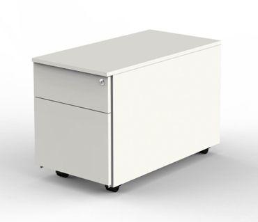 FORM 4 Rollcontainer Container Bürocontainer 1 Schublade 1 Hängeregister Weiß – Bild 1