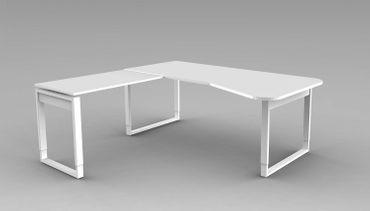 FRESH Winkelkombination 195x180 cm Weiß