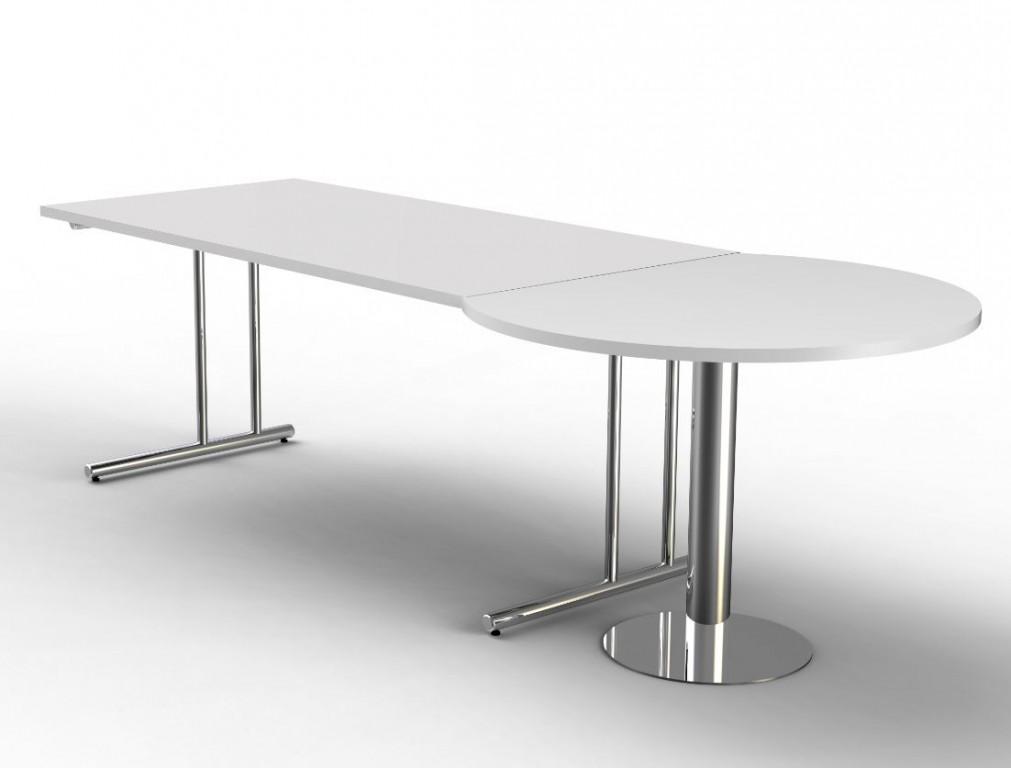 artline schreibtisch besprechungstisch b rotisch arbeitstisch wei b ro meeting konferenz. Black Bedroom Furniture Sets. Home Design Ideas