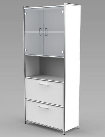 ARTLINE TYP10 Komplettbüro Büro Komplettset Office Weiß – Bild 5