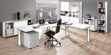 ARTLINE TYP11 Komplettbüro Büro Komplettset Office Weiß – Bild 1