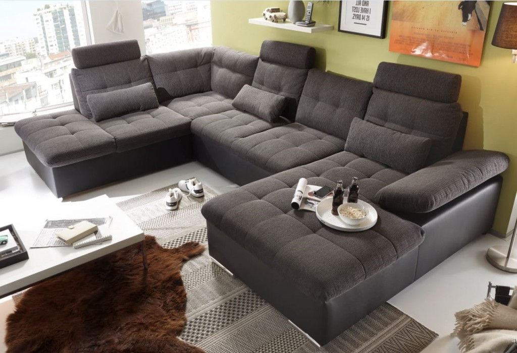 jakarta wohnlandschaft m schlaffunktion couch sofa. Black Bedroom Furniture Sets. Home Design Ideas