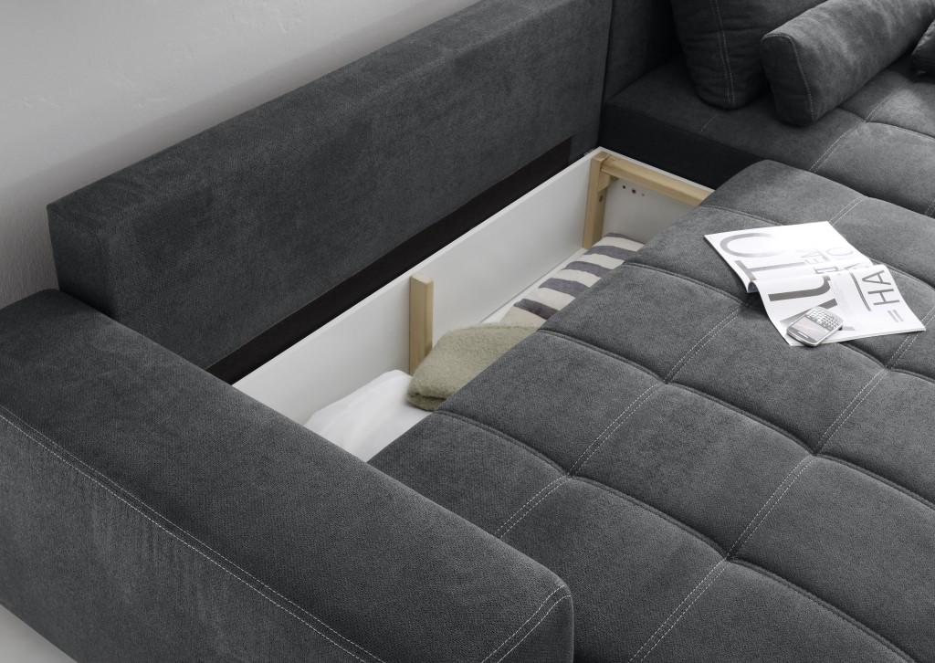 lopez ecksofa mit schlaffunktion couch schlafsofa sofa. Black Bedroom Furniture Sets. Home Design Ideas