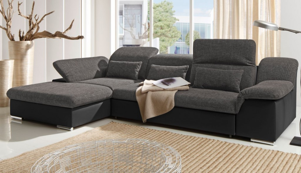 move ii ecksofa mit schlaffunktion couch schlafsofa sofa. Black Bedroom Furniture Sets. Home Design Ideas