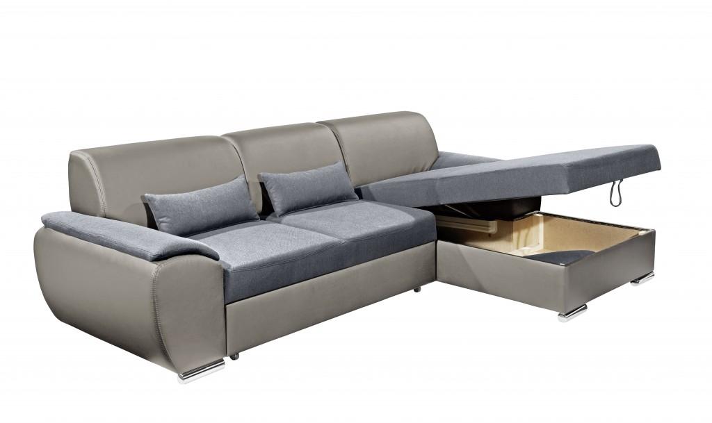 antara ecksofa mit schlaffunktion couch schlafsofa sofa schlamm anthrazit ebay. Black Bedroom Furniture Sets. Home Design Ideas