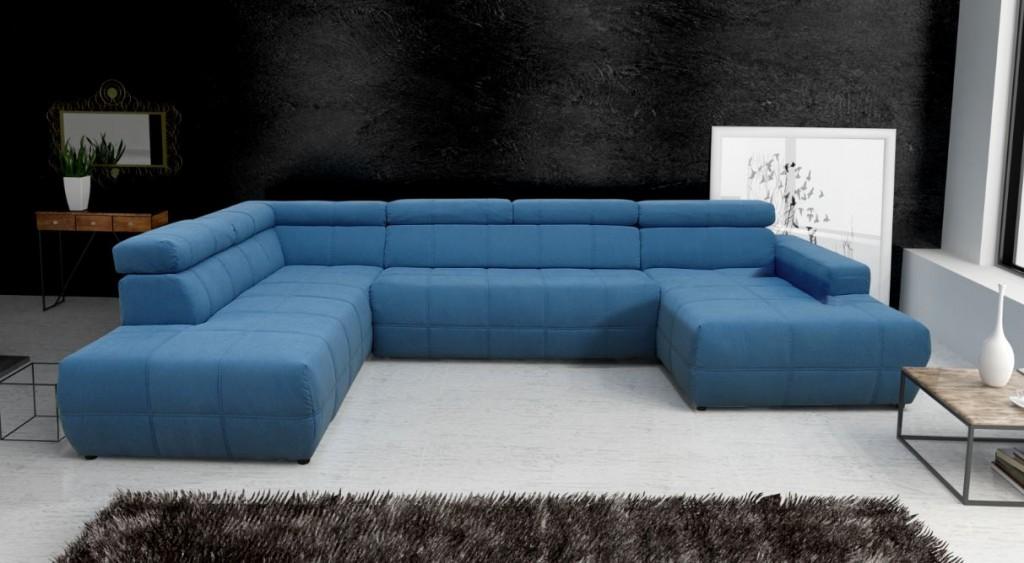 trani wohnlandschaft eckgarnitur sofa couch t rkis ebay. Black Bedroom Furniture Sets. Home Design Ideas