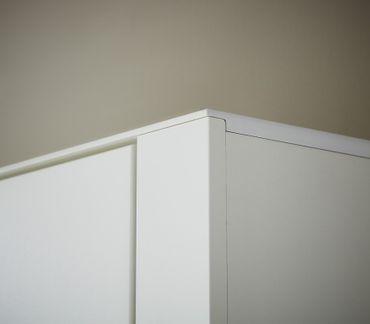 Virgo Garderobenschrank Dielenschrank Garderobe Flur Schrank Weiß – Bild 4