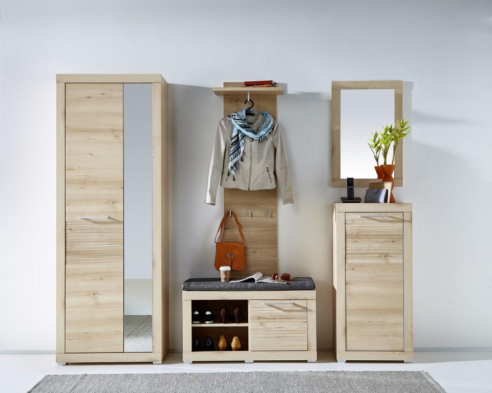 rana 3 garderoben set komplettset flur komplettgarderobe. Black Bedroom Furniture Sets. Home Design Ideas