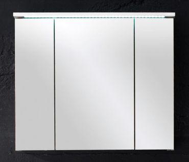 SPLASH 4 Badezimmer Set 2-tlg. Weiß Hochglanz – Bild 2