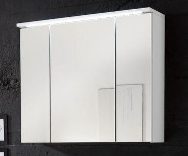 SPLASH Spiegelschrank inkl. LED-Beleuchtung Weiß – Bild 1