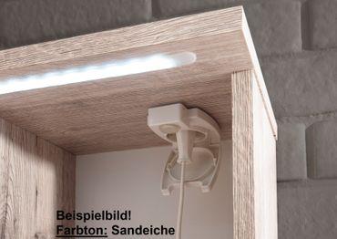 SPLASH Spiegelschrank inkl. LED-Beleuchtung Weiß – Bild 5