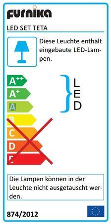 SPLASH Spiegelschrank inkl. LED-Beleuchtung Weiß – Bild 7