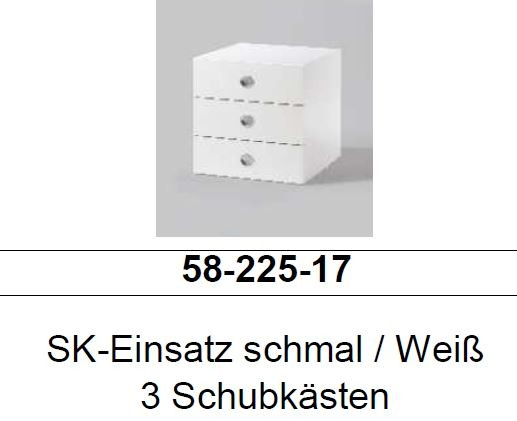 schubkasten 3er set f r kleiderschrank 44cm breit. Black Bedroom Furniture Sets. Home Design Ideas