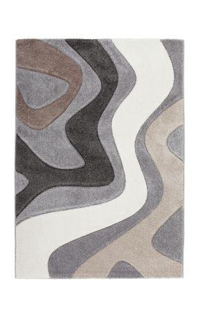 14342 Teppich Handgemacht Silver Silber 200x290 cm – Bild 1