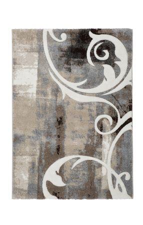 14354 Teppich Handgemacht Taupe 120x170 cm – Bild 1