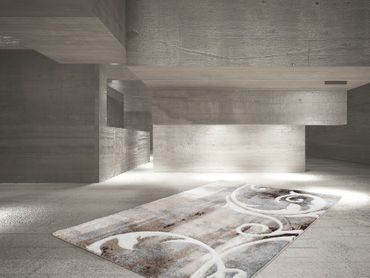14356 Teppich Handgemacht Taupe 200x290 cm – Bild 4