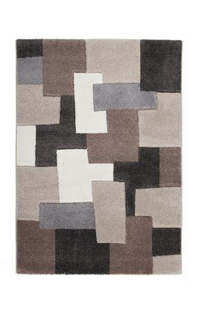 14370 Teppich Handgemacht Taupe 60x110 cm – Bild 1