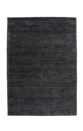 14425 Teppich Handgemacht Anthrazit 120x170 cm – Bild 1